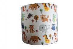 Wandlamp babykamer met dieren