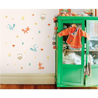 Wall Pops muurstickers babykamer en kinderkamer