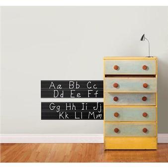 Muurstickers schoolbord