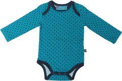 Romper turquoise lange mouw Froy en Dind Danish Blue baby
