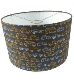 Hanglamp busjes en auto's oldtimers grijs