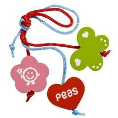 Sleutelhanger meisje Peas