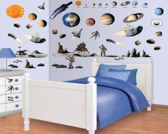 Muurstickers ruimte Decor Kit Walltastic