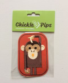 Strijkapplicatie met aapje