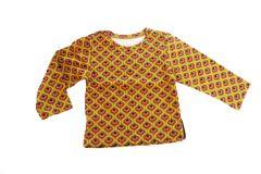 T-shirt baby met retro print maat 68