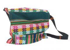 Tas Inca gestreept met verstelbare schouderriem