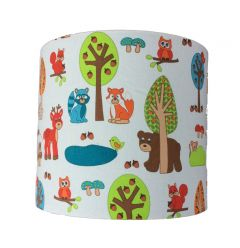 Wandlamp dieren bos babykamer