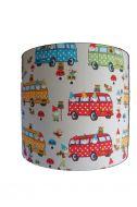 Wandlamp bus retro babykamer