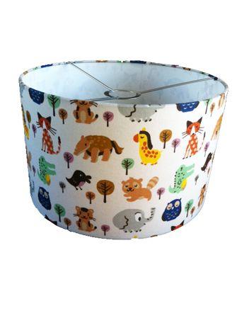 hanglamp babykamer dieren retro
