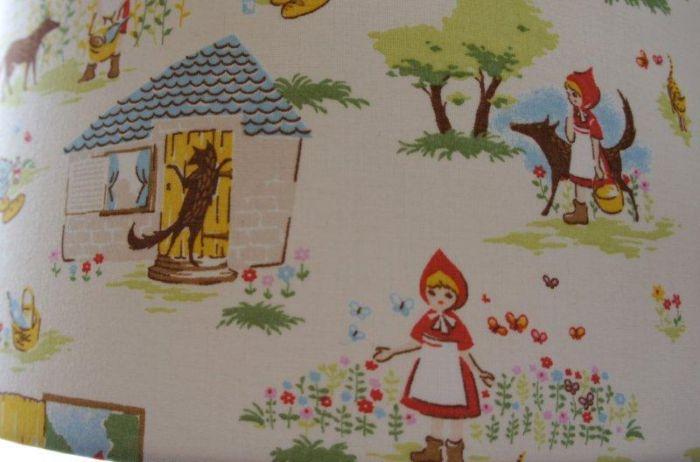 Roodkapje sprookjes kinderkamer. beautiful roodkapje sprookjes