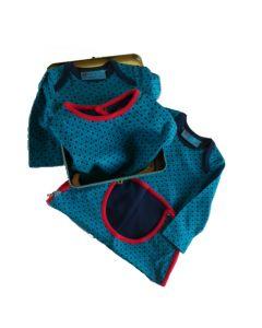 Babycadeaupakket tweeling jongen Danish Blue