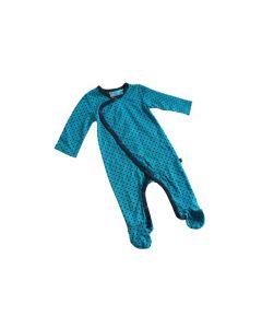 Boxpak Danish Turquoise maat 62-68 met voetjes