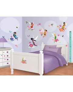 Muurstickers Disney Tinkerbell Decor Kit Walltastic