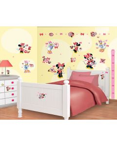 Muurstickers Disney Minnie Mouse Decor Kit Walltastic