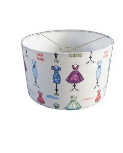Hanglamp meisjeskamer retro jurkjes SALE