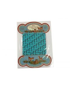 Band hertjes turquoise Clayre & Eef
