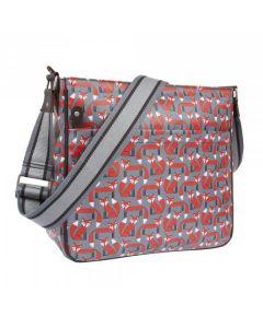 Messenger bag tas met vosjes