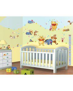 Muursticker Disney Winnie the Pooh Walltastic