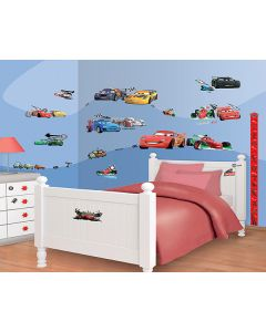 Muurstickers Disney Cars Walltastic