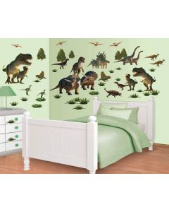 Muurstickers Dinosaurus Decor Kit Walltastic