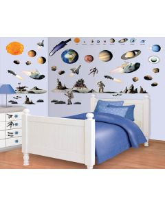 Muurstickers ruimte Decor Kit Walltastic