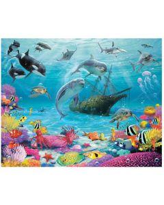 Posterbehang onderwater Walltastic XXL
