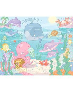 Posterbehang Baby Onderwater Walltastic XXL