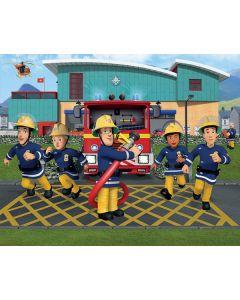 Posterbehang XXL Brandweerman Sam Walltastic