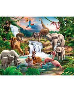 Posterbehang XXL Jungle Walltastic