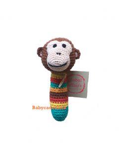 Rammelaar gehaakt aapje