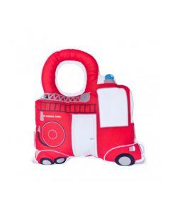 Rammelaar brandweerauto