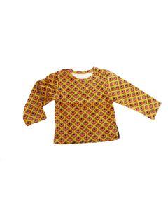 T-shirt baby met retro print